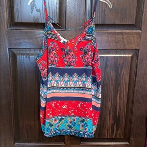 Maurices V-Neck Printed Tank